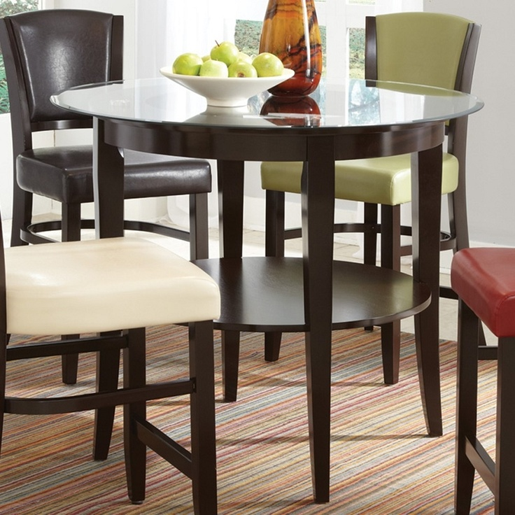 103688 Counter Height Round Dining Table 10
