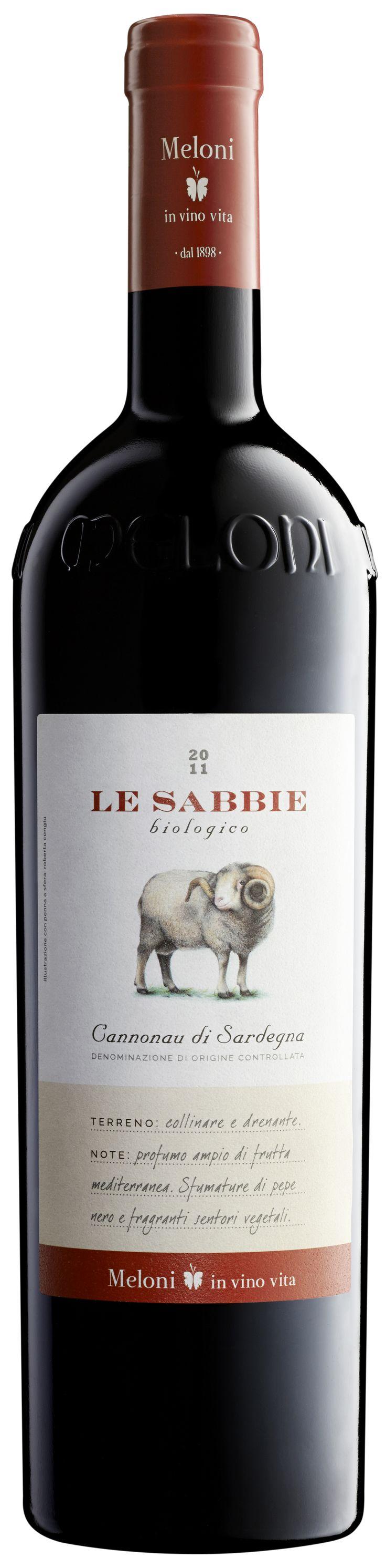Le Sabbie Cannonau DOC 2013 sardische Weine bestellen Sie bei www.tiposarda.de