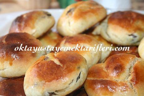 Zeytinli Poğaça Tarifi #poğaça #pastry