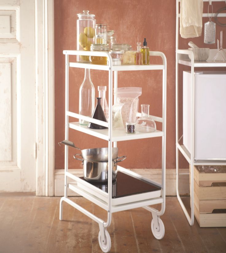 SUNNERSTA Cart, $29.99: Will this kitchen cart be as beloved as the RÅSKOG utility cart? Only time will tell.