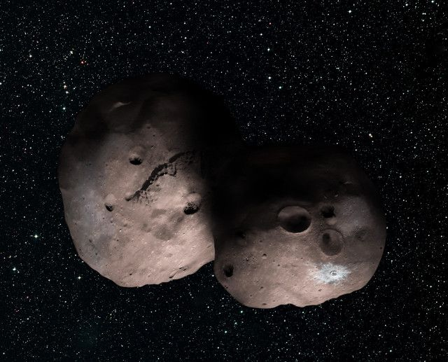 NASA has communicated the results of the observations of 2014 MU69, the object in the Kuiper Belt that represents the next target for the New Horizons space probe. The study of the observations made on July 17, 2017 when 2014 MU69 passed in front of a star suggests that it has the shape of an extreme prolate spheroid or that it's actually two asteroids very close if not in contact. Read the details in the article!