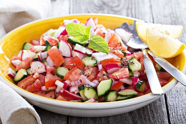 The perfect side dish spring salad for a healthy summer bbq