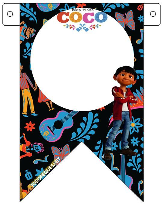 Kit Imprimible de Coco Disney descarga gratis | Todo Peques | PARTY ...