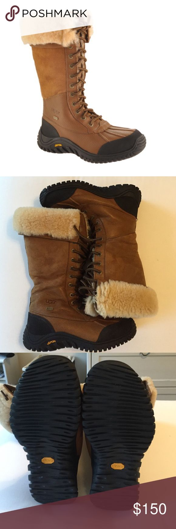 UGG Adirondack Tall Boot Excellent used condition. I have only worn these a few times. I unfortunately have no need for them anymore because it doesn't snow or get too cold where I live now. I guarantee you will love these! 100% authentic. UGG Shoes Winter & Rain Boots