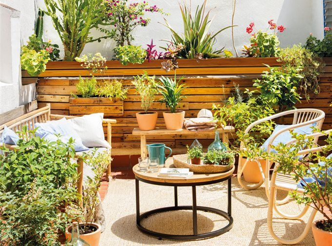 19 best test decoraci n images on pinterest at home - Como decorar una terraza ...