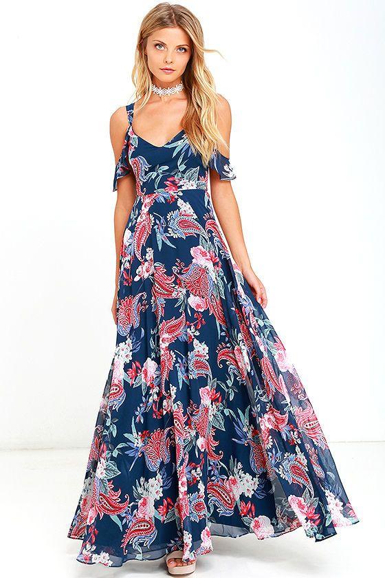 Moda vestidos largos casual 2016