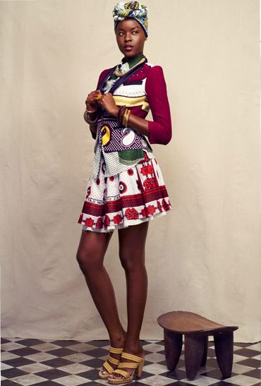 Thank you Afroklectic -East African textiles are amazing.