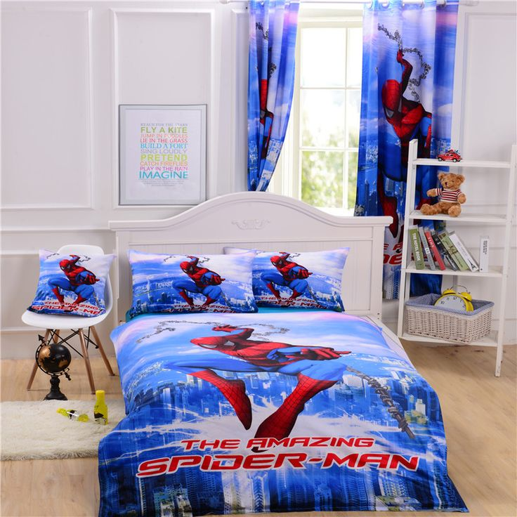 Best 25+ Spiderman Bed Set Ideas On Pinterest