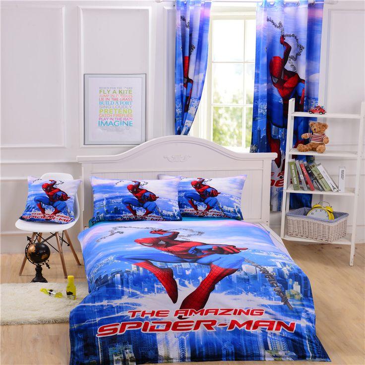 The 25+ best Spiderman bed set ideas on Pinterest