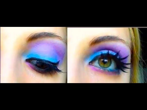 ▶ Sully Sullivan - Monsters University Disney Inspired Makeup Tutorial - YouTube