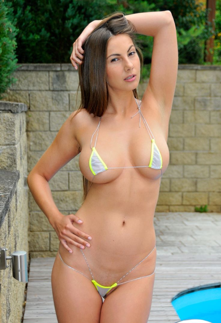 Connie carter micro bikini