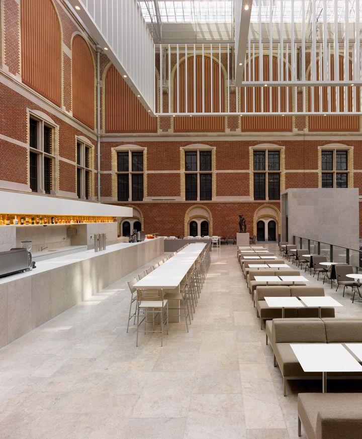 Rijksmuseum restaurant / café by Studio Linse, Amsterdam