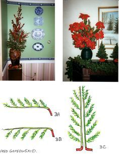 Some ideas for Repurposing, Reusing, Recycling an old artificial Christmas tree (I think the one we own is still to tattered to reuse)