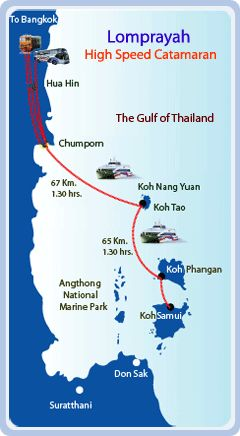 Lomprayah offers bus + ferry services twice daily from Bangkok and Hua Hin to Koh Nang Yaun / Tao / Phangan / Samui . This is an affordable inexpensive and efficient way to travel to Koh Tao / nang Yuan #travel