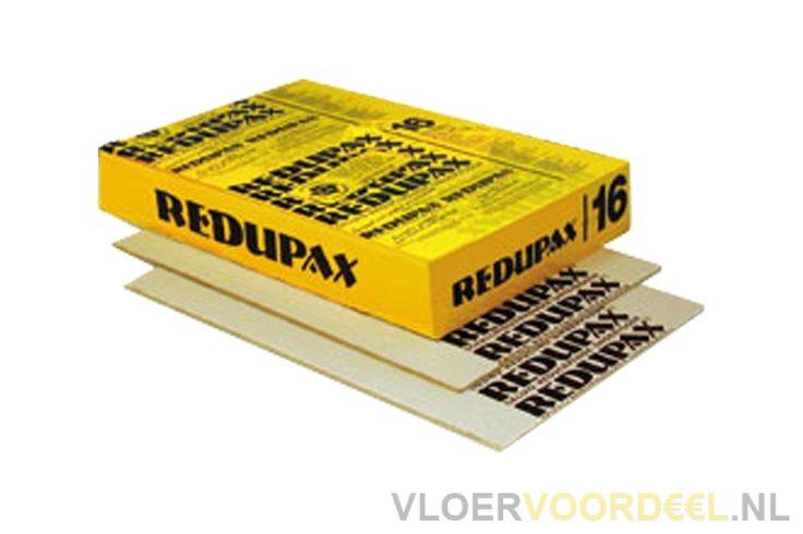 Redupax ondervloer platen 10db 8,12m² / pak