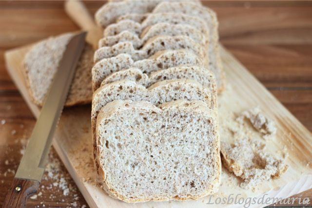 Pan de Espelta Blanca en Panificadora | Comer con poco