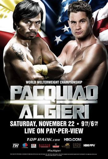 Pacquiao vs Algieri PAY-PER-VIEW here at SM CITY SAN LAZARO!  Who do you think will win?  Watch it LIVE via Satellite at your favorite SM Cinema San Lazaro. Buy your tickets now! For online purchase, visit www.smcinema.com.