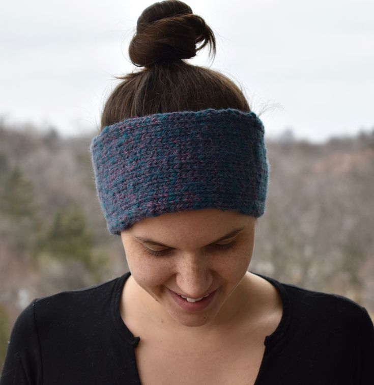 This simple yet elegant knit headband was hand-knit in Toronto using locally sourced, ethical alpaca wool. The beautiful blues and pinks in this headband are a result of low-acid based dyes. Lined with 100% cotton, this knitted headband will keep you warm and dry during the winter season. ($59 CDN)