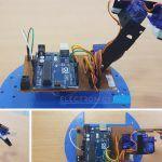 How To Build A Simple Arduino Robotic ARM [DIY]