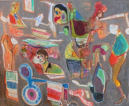 Contemporary artist - Mark Braunias