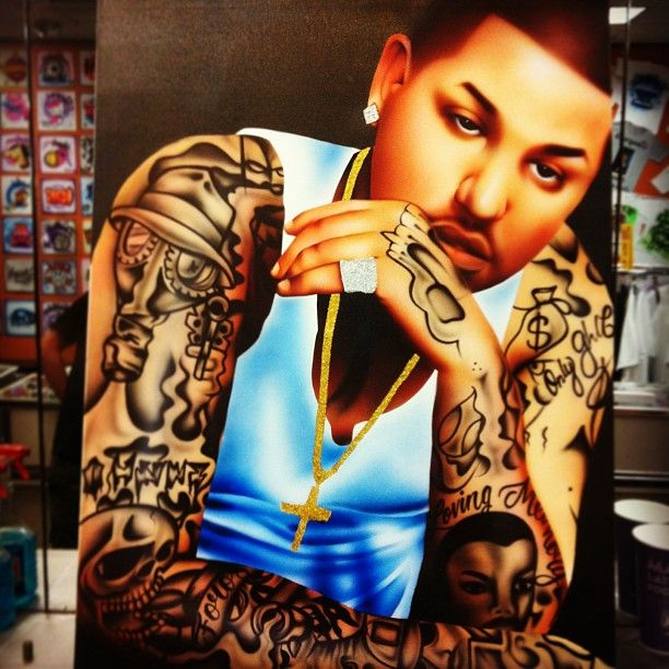 26 Best Airbrushed Canvas And Portraits Images On