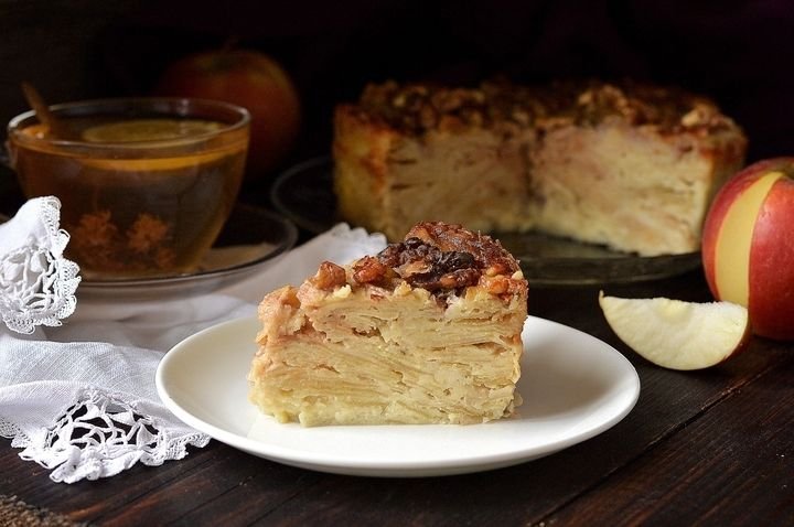 Мне нравится выпечка, в которой мало теста и много начинки. Нежная, утонченная, она содержит меньше калорий, но при этом остается чрезвычайно аппетитной!  Самый вкусный яблочный пирог, который мне при…