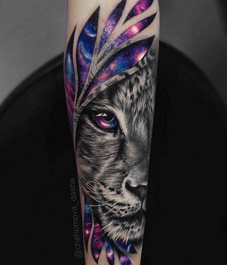 C'est tellement cool que la couleur est si vivante   – Tattoos