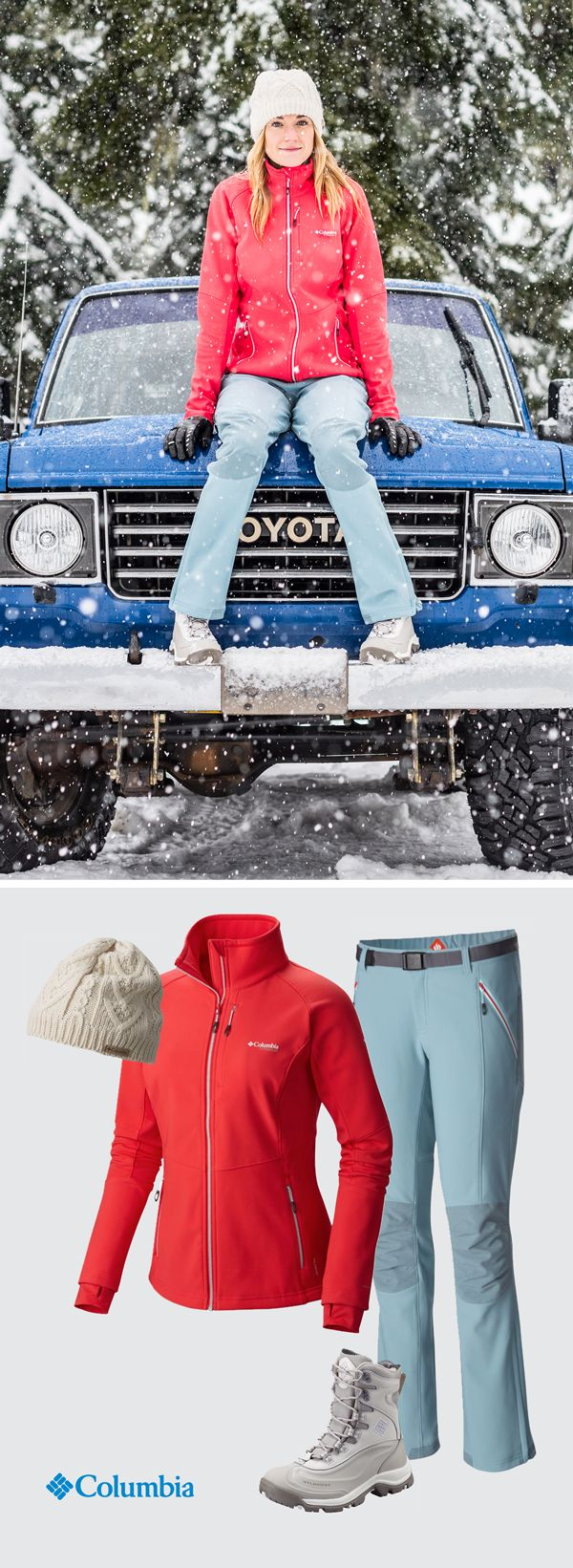 Four must-haves for winter. When the mountains call, think layers. Columbia ski and snow gear will keep you nice and warm even when Mother Nature is her most brutal.