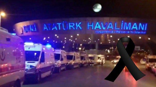 Yaşanan terör saldırısını lanetliyoruz