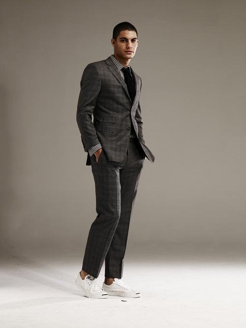 Men fashion suit sneakers men s fashion pinterest black men s