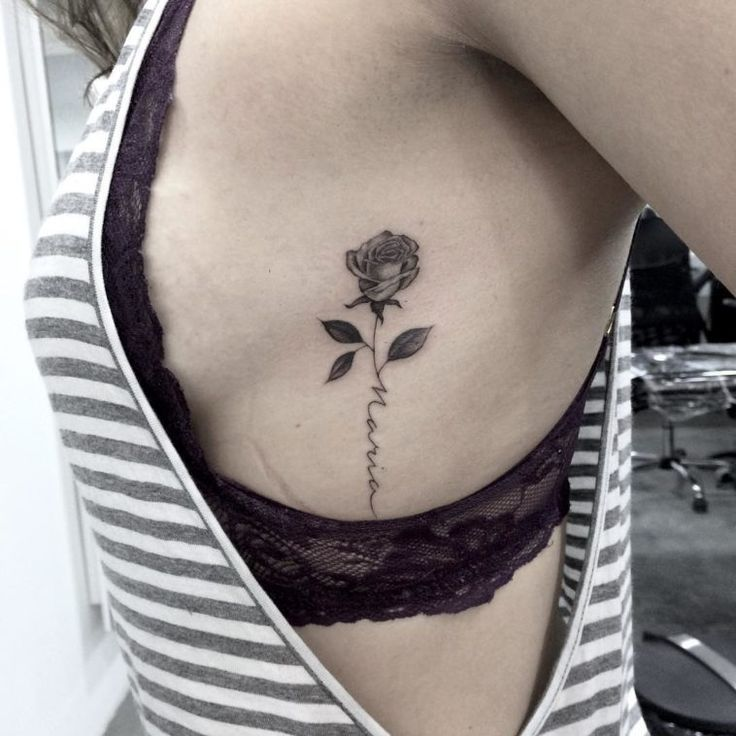 54 Cute Roses Tattoos Ideas Worth Checking Out Ninja Cosmico Small Rose Tattoo Rose Tattoos For Women Rose Tattoo With Name