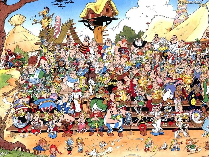 Asterix All Characters