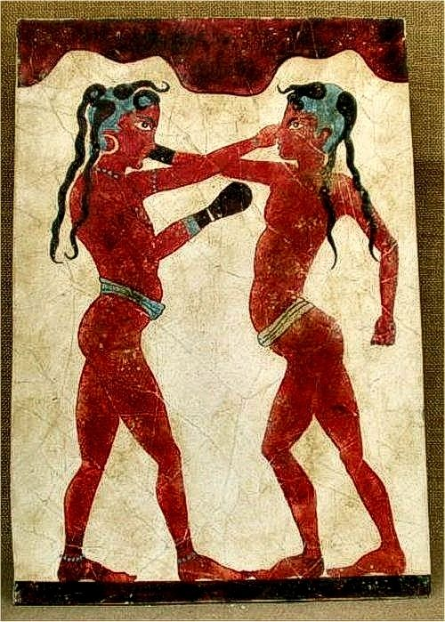 an analysis of boxing in ancient greece Ancient greek politics may not  (deaths in the boxing and  but there is a sting in the tail of this greek vs roman story of the olympic games.