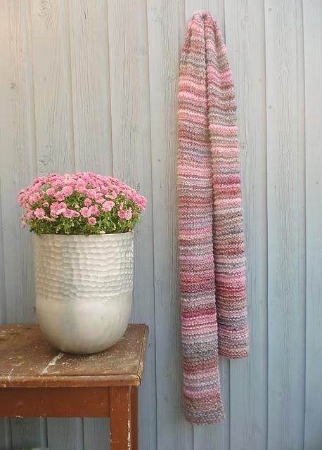Knitted scarf!