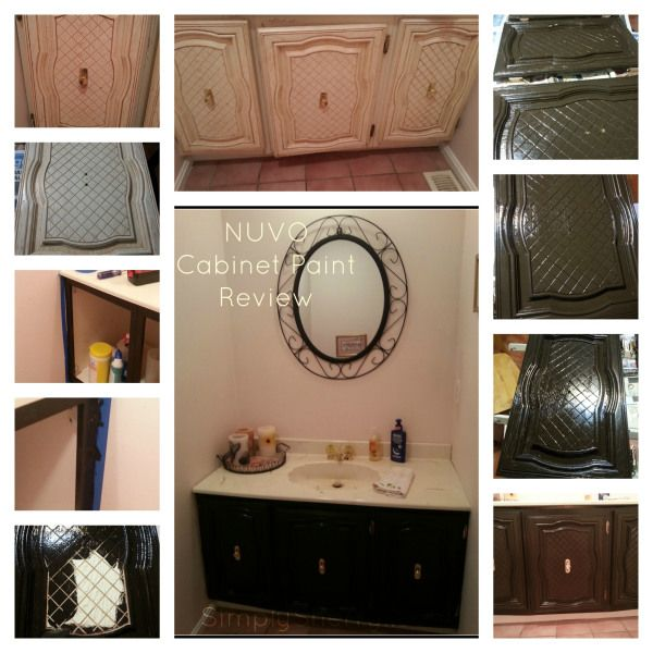NUVO Cabinet Paint Review  Kitchen redo  Pinterest