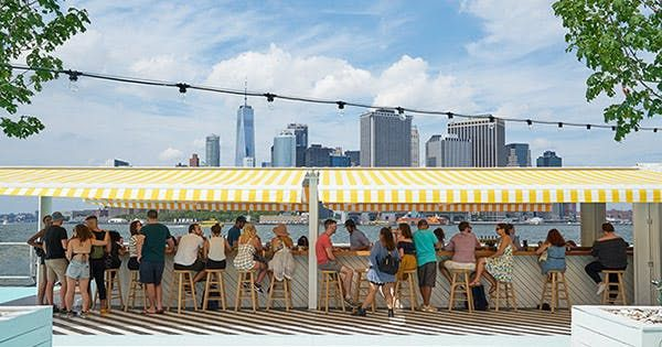 7 Places to Eat, Drink and Hang Out on a Boat in NYC via @PureWow