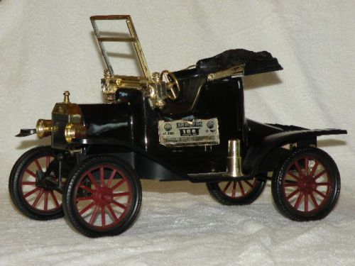 Vintage Jim Beam Ford Model T Decanter Kentucky Whisky Car