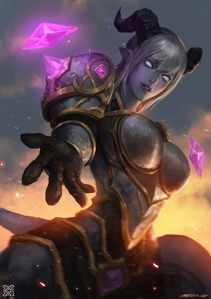 Draenei Paladin - World of Warcraft