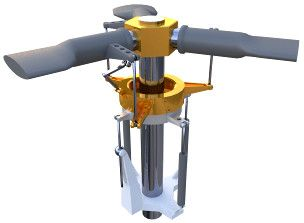 Image of 3D model 'Mechanism of helicopter'