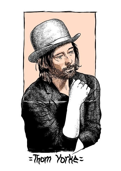 :: thom yorke :: one of my idol