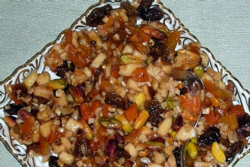 Apricot-Pistachio Charoset | CHAROSET RECIPES | Pinterest | Pistachios ...