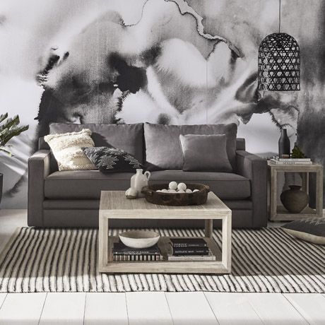 Freedom's Andersen 3 Seat Sofa.   The grand scale of our Andersen range creates a winning look in spacious family rooms. The generous two-and-a-half-seat sofa is substantially deeper than similar styles.Comfort and style are unparalleled. Feather, fibre and high-density foam fill the plump cushions, and classic piping finishes off cushion and arm edges.  http://www.freedom.com.au/furniture/sofas/fabric-sofas-modulars/23491373/andersen-3-seat-sofa-napa-charcoal/