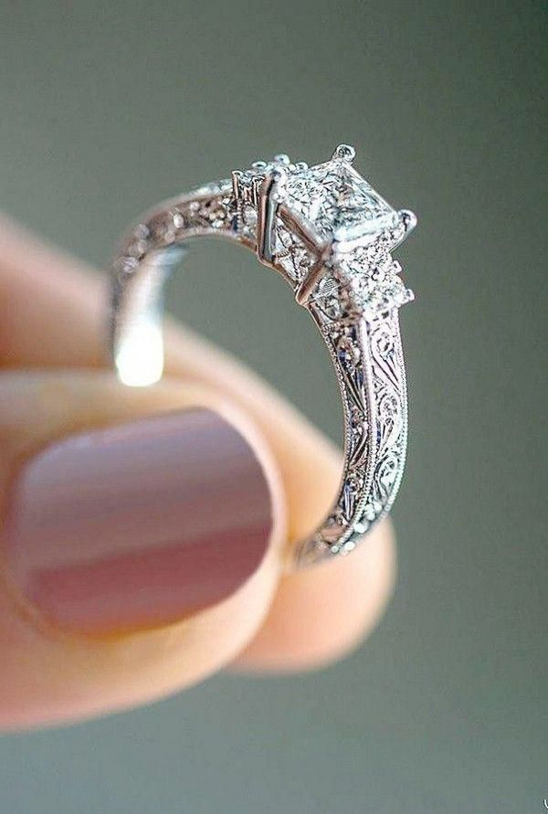 Pin On Unique Vintage Engagement Rings