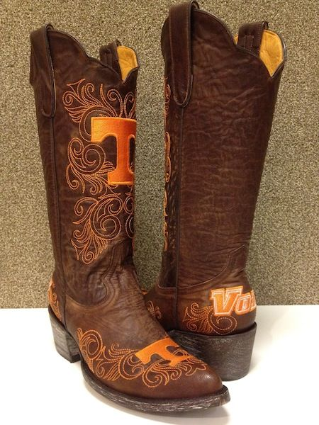 Gameday boot UT Vols University of Tennessee