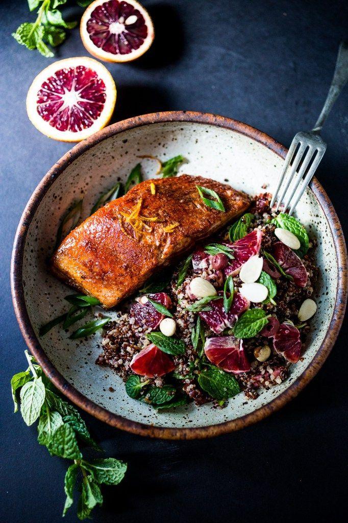 Simple Moroccan Salmon