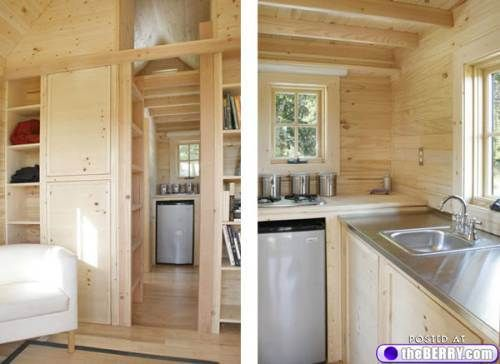best 544 tiny homes on wheels inside and out images on pinterest - Inside Of Tiny Houses