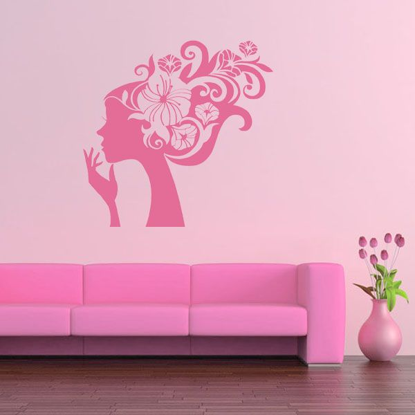 Best Girls Wall Decals Images On Pinterest Wall Decals - Wall stickers for girls