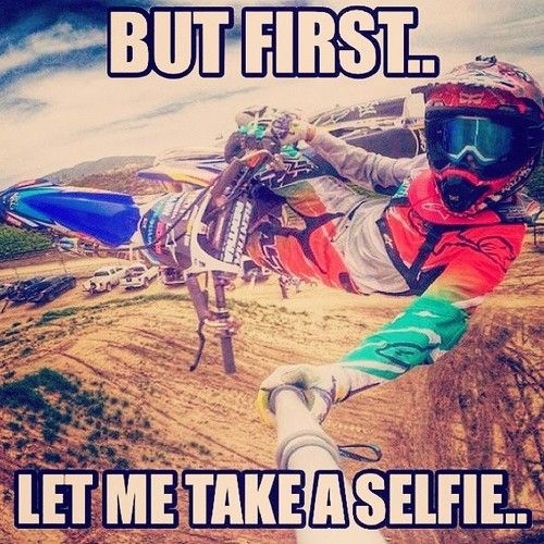 Gotta get something for Instagram on the bike
