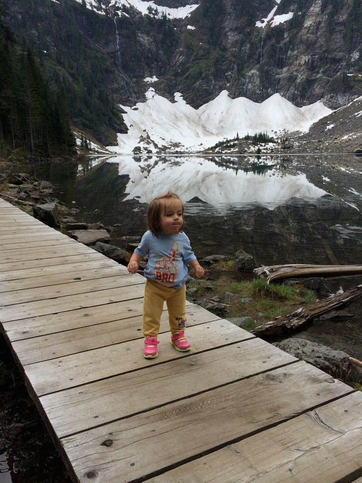 Hiking trails for families in the North Cascades, Washington.