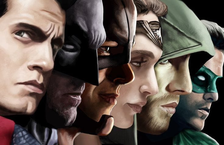 Justice League by HeroforPain
